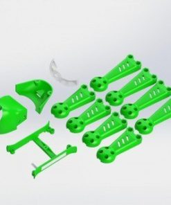 Vortex 150 Mini Crash Kit 1 Green